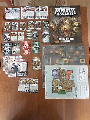 Star Wars Imperial Assault Jaba's realm campaign