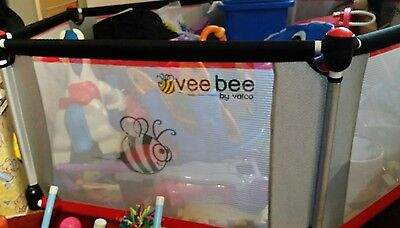 VEE BEE PLAY PEN. 6 sided with mat.PICK UP 3169.
