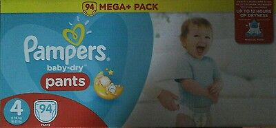 pampers baby dry pants - taille 4 - 92 couches