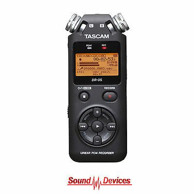 Tascam DR-05 mkII Portable Handheld Stereo Audio Recorder NEW Aus Warranty