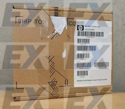 AJ838A - HP 30m LC-LC Multi-Mode OM3 Fiber Optic Cable HP Enterprise Brand NEW