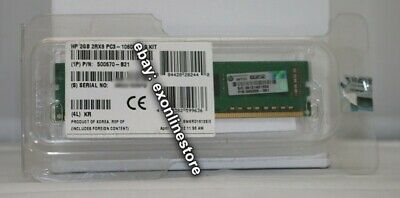 500670-B21 - Original HPE 2GB 2Rx8 PC3-10600E-9 Kit