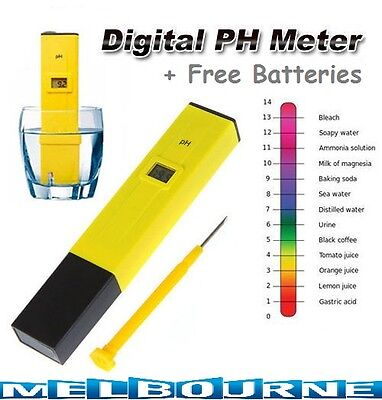 Pool Water Digital PH Meter Pocket Tester measure Pen SPA Aquarium Fish Tank Aci