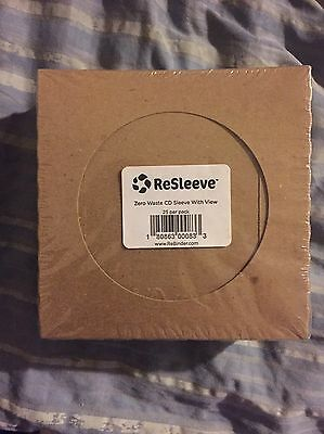 Guided Products ReSleeve View Recycled Cardboard CD Sleeve, 25 Pack (GDP00083)
