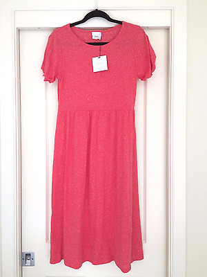 Maternity dress ASOS size 10 red stretch cotton