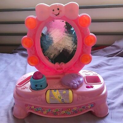 Fisher Price Mirror Dressing Table Pink baby toys