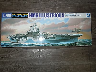 Illustrious (aircraft carrier) 1/700 waterline kit