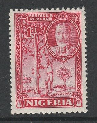 1936 NIGERIA 1d RED STAMP – MVLH