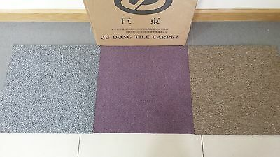 Heavy Duty High Quality Carpet Tiles Box For Commercial Domestic Flooring