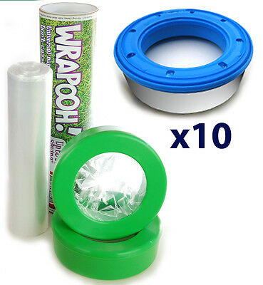 Angelcare compatible refill - nappy bin cassette & liner from Wrapooh.