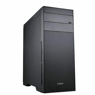 MS-TECH X7 Crow Gaming Tower PC Gehäuse Case Big Tower black
