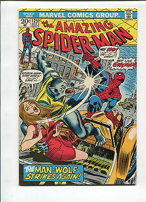 Marvel The Amazing Spiderman  #125 Very Fine  Silver Age Comic 1960's
