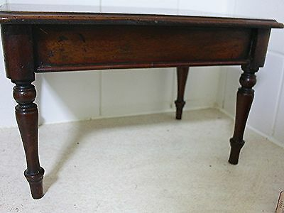 Apprentice piece reproduction Victorian mahogany table
