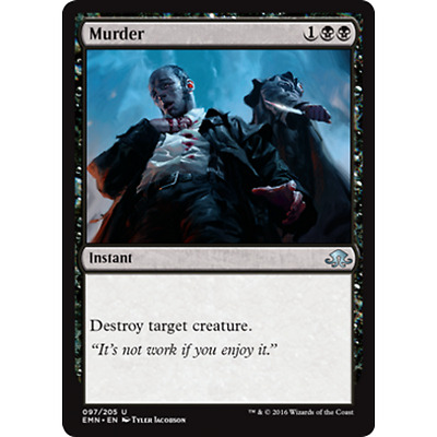 Murder - FOIL - MTG - Magic The Gathering - Uncommon