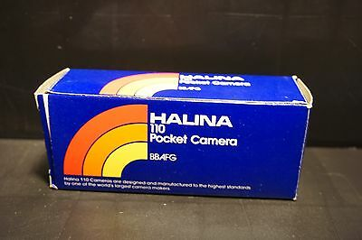 HALINA    Pocket Camera 110 » BBAFG Boxed