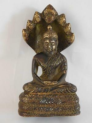 19Th Century Brass/Bronze Seated Diety ~ Now 23% Off ~ Free Uk Postage