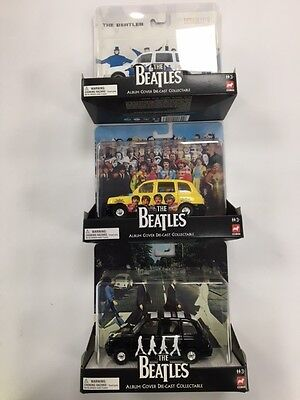 Corgi The Beatles album cover die-cast collectable taxi-NEW