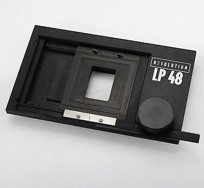Resolution LP48 Digital Back 4x5 Adapter For Hasselblad V