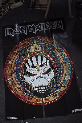 Iron Maiden and Babymetal DOUBLE SIDED A1 Poster from Metal Hammer