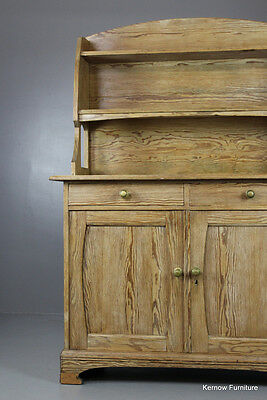Rustic French Pine Dresser Kitchen Cabinet Sideboard