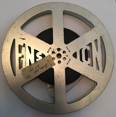 "Rare Vintage 9.5mm Film Reel - Mickey Mouse ""Mickey Sells Hot Dogs"" 1935 Cartoon"