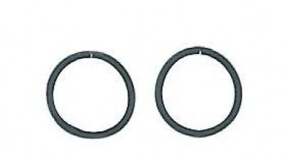 Perri's Safety Stirrup Bands, Black, One Size. Brand New