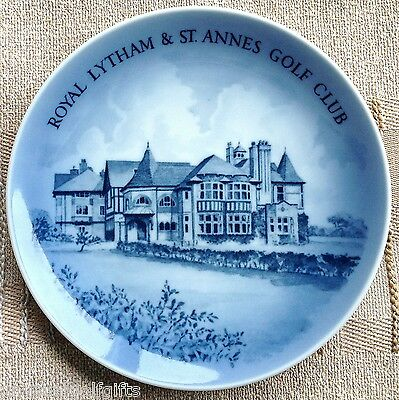 Golf Display Plate Royal Lytham & St Annes Golf Club Open Championship 1979 Mint