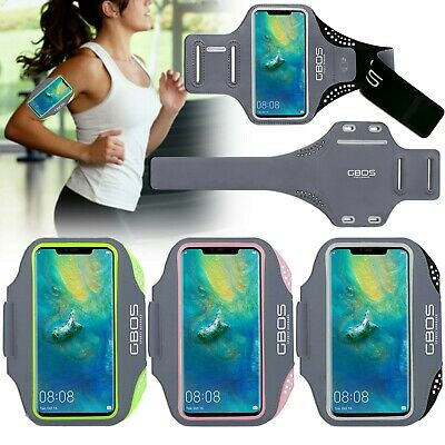 GBOS® Sports Gym Exercise Running Armband Case Cover For Huawei Various Models