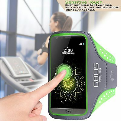 GBOS® Sports Gym Exercise Running Armband Case Cover For LG Various Models