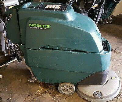 NOBLE SPEED SCRUB 3 FLOOR SCRUBBER  NEW BATTERIES 20 INCH 2013 MODEL 200 Hours