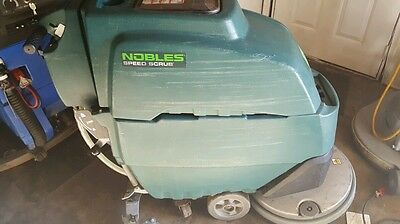 Noble Speed Scrub 3 Floor Scrubber  New Batteries 20 Inch
