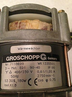 Groschopp Warmewacler Servo Motor Assembly Mri Longitudunal Drive Medical Parts