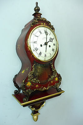 Antique Old Boulle Clock with consule Old Clock Shelf Mantel
