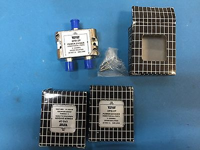 Toner XPD-2P Power Divider 5-2300MHz Diode Isolated 30 VDC 1A  6dB Loss (qty 3)