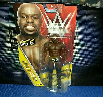 Apollo Crews - Basic Series 64 - New Boxed WWE Mattel Wrestling Figure