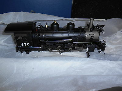 PSC Mountain Model Imports On3 K-28 DC1013-1 D&RGW 2-8-2 F.P. Black #470