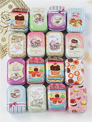 Small Tin new retro style Secret Storage Tobacco Box Little Candy,16 styles, no6