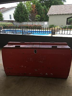 Vintage Coca Cola electric chest cooler- in working condition