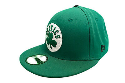 Boston Celtics Patched Team New Era 59FIFTY NBA Baseball Cap