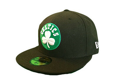 Boston Celtics Team Basic New Era 59FIFTY NBA Baseball Cap