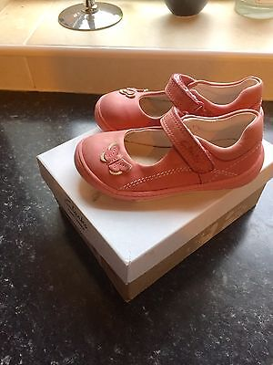 Girls Clarks First Shoes size 6 E