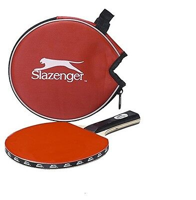 Slazenger Table Tennis Bat With carry case Sports Paddle Cheapest Ping Pong NEW