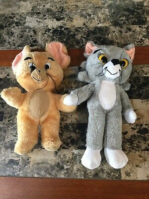 Knickerbocker Vintage Tom And Jerry Plush Toy 1976 Cat And Mouse