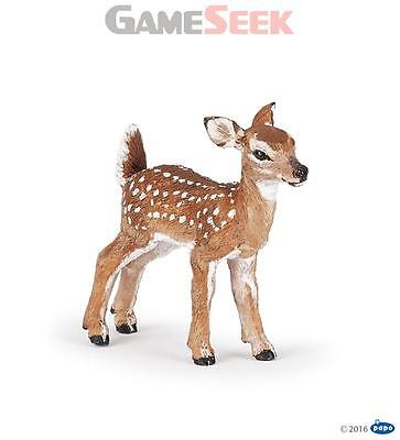 Papo White-Tailed Fawn - Toys Brand New Free Delivery