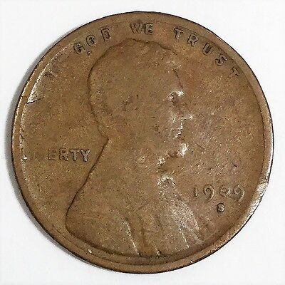 1909-S Lincoln Wheat Cent Penny Beautiful Coin Rare Date LOT B
