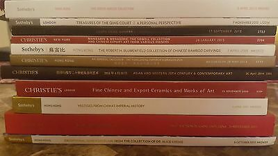 Lot Of 11 Sotheby's Christies Auction Catalogs