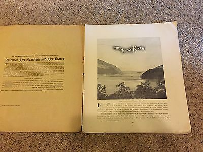 Antique America, Her Grandeur and Her Beauty Circa 1904 Hudson River Pictures