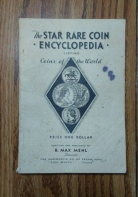 Vintage 1954 The Star Rare Coin Encyclopedia LIsting Coins of the World