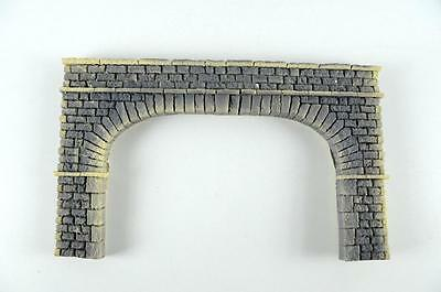 O scale model train foam Pennsy stone grey tunnel portal tunnel face  new