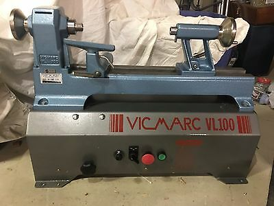 Vicmarc VL 100 Bench Top Wood Lathe